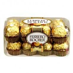 16 piece of ferrero Rocher